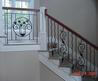 Fascinating Lightgrey Staircase Railing Ideas Decorating Exciting Design Black Iron Stair Wood Handrail Granite Step Stunning Decoration