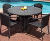 Resin Wicker Dining Group Outdoor Patio