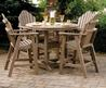 Awesome Terrace Decoration With Patio Dining Sets