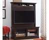 """Better Homes And Gardens Chocolate Oak Tv Stand With Hutch For T Vs Up To 50"""""""