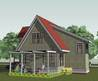 Small Cottage House Plan, Shingle Cottage Home Design