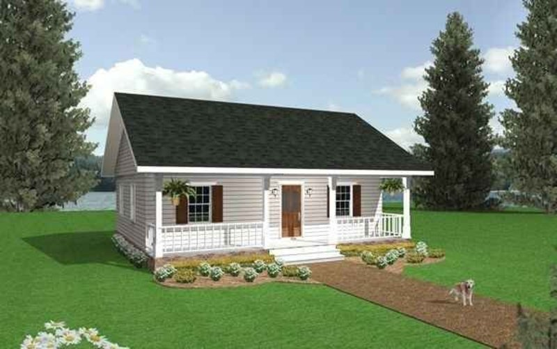 cottage cabin small country home plans design bookmark