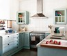 Small White L Kitchen Appealing Small Country White Kitchen Design With Letter L Shape Pictures