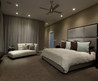 Dark Brown Wall Color Themes And Modern Carpets In Romantic Apartment Bedroom Design Ideas Cool Furniture For Modern Home Interior And Exterior
