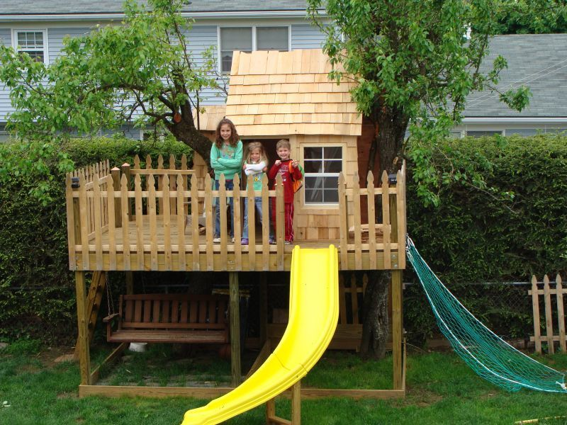 how to build a treehouse without hurting the tree