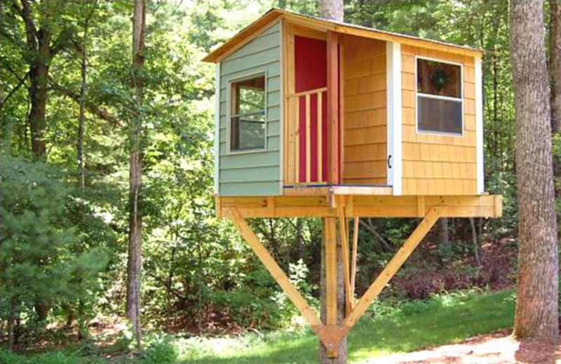 Kids Tree House, Tree House Plans To Build For Your Kids