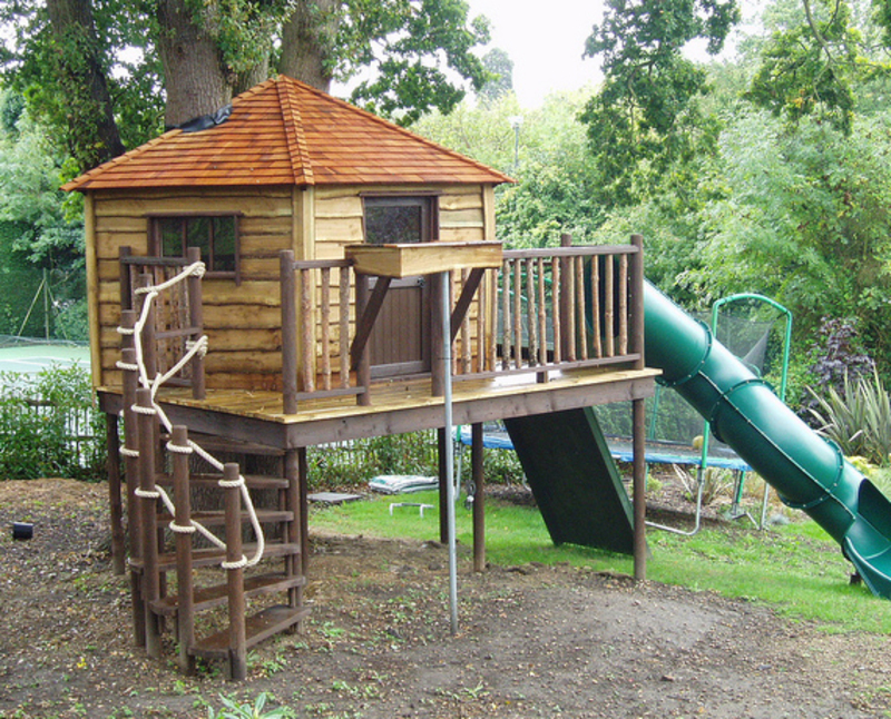 Kids Tree House, Must See Treehouses For Kids