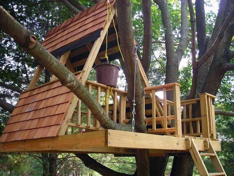 Kids Tree House, 50 Kids Treehouse Designs