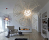 Modern Chandelier Design By Brian Rasmussen Architects