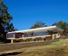 Contemporary Residence Exterior View With Modern Glass Walls And Natural Stone Walls Also White Roof For Rural House Design Australia By Wright Feldhusen Architects Architecture Ideas Photo Pictures Of Contemporary Residence Exterior View With Modern Glas