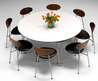 Round Dining Table Design To Gather The Family