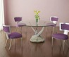 Arrange Dining Room With Modern Round Dining Tabl