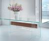 Dining Table / Contemporary / Glass / Tempered Glass