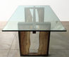 Dining Table / Contemporary / Glass / Indoor
