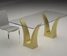 Modern Table Base Nice Look With Modern Glass Top Coffee And Dining Tables With Colored Bases
