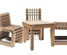 Philippe Nigro's 'Build Up' Child's Chair And Table Is Made From Cardboard