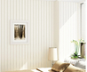 Modern Simple Style Neutral Colour Off White Textured Striped Vinyl Wallpaper Wall Covering Wall Paper Roll Living Room