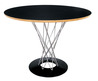 Buy   Cal Modern Round Table – Black Online Directly