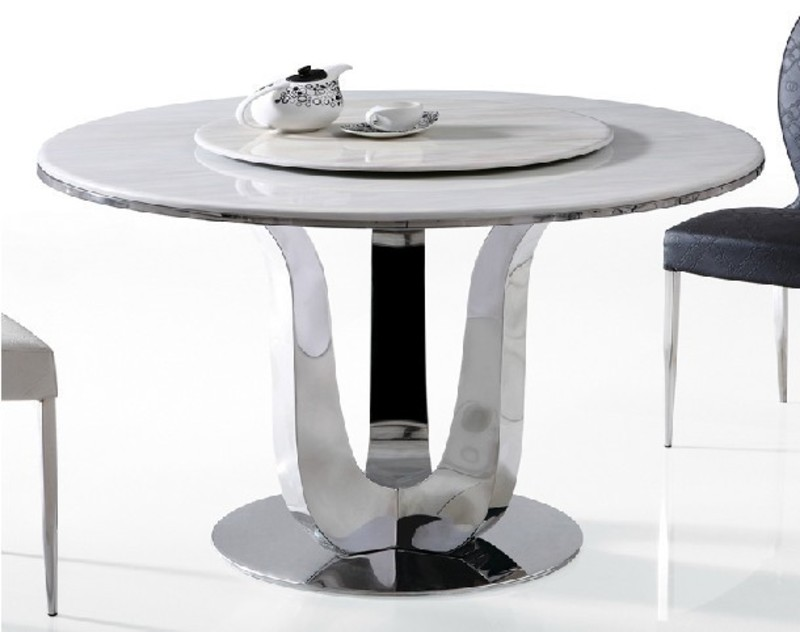 Online get cheap stone round dining table design for Modern large round dining table