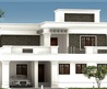 Roof Pictures House  Sqfeet Flat Roof Villa Elevation House Msglbxgf
