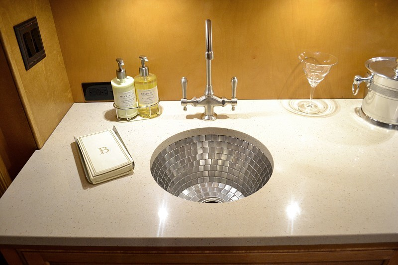 Soapstone bathroom countertops granite ceasarstone bath - Kitchen sinks austin tx ...