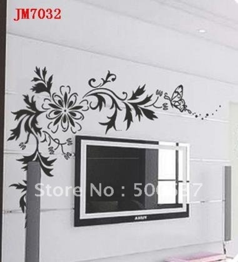 Aliexpress com design bookmark 19162 for Deco mur tv