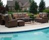 Picturesque Comfortable Contemporary Outdoor Furniture For Your Garden With Pool