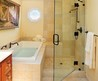 Small Master Bathroom With Tub Shower Combo