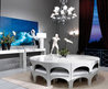 Modern Dining Table Design For Dining Room Furniture, Coliseum Stainless Steel By Nella Vetrina « Products « Design Images, Photos And Pictures Gallery « Design Wagen
