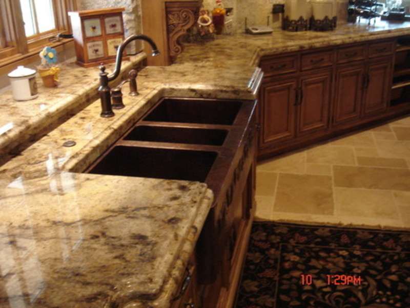 What Color Granite Goes With Medium Oak Cabinets Q