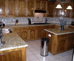 Tagged With Medium Oak Cabinets With Granite Counters Photos