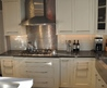 Stunning Marvelous Stainless Steel Backsplash Design