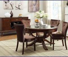 Round Glass Top Dining Table, Dining Table, Tables Download Page – Home Design Ideas Gallery And Guide, For Your Home Reference