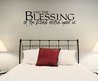 And The Blessings Of The Lord... Wall Art Decals