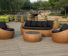Cocoon 4 Piece Outdoor Lounge Setting
