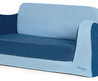 Little Sofa Sleeper Blue   Contemporary   Kids Chairs   By Pkolino