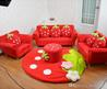 Best Quality  Coral Velvet Children Sofa Chairs Cushion Furniture Set Cute Strawberry Style Couch For Kids Room Decor Christmas Birthday Gift At Cheap Price, Online Children Furniture Sets