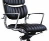 Office Chair, Leather Chair, Modern Classic Chair (Js