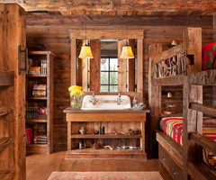 Rustic Kids Room Interior Wallpaper Hd With Loft Decorating Ideas