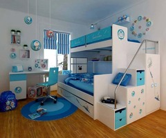 Boys Bedroom Decorating Ideas With Bunk Beds