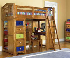 Bunk Beds With Deskmodern Kids Loft Beds Kids Loft Beds With  Decorating Ideas Bedroom
