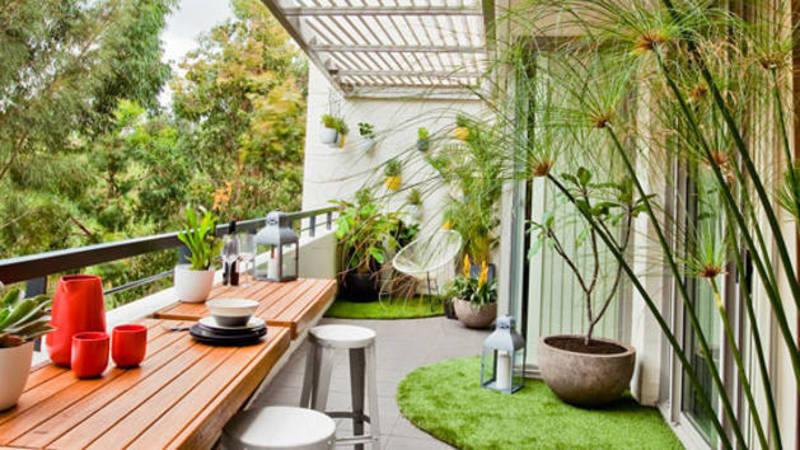 Better homes and gardens pattern sheet balcony garden for Balcony garden
