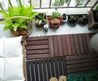 Fresh Balcony Garden With Simple Style