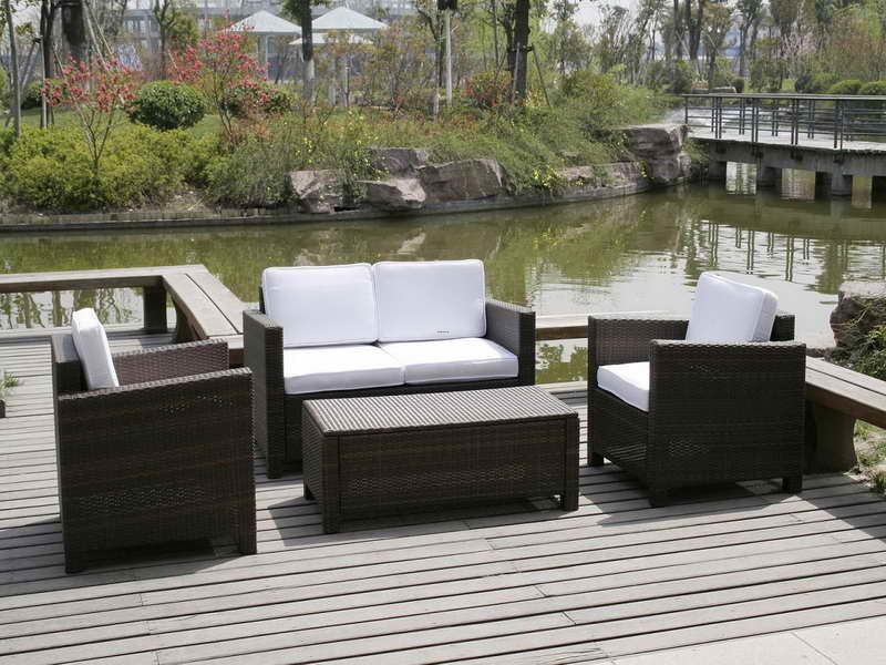 Outdoor Furniture, Small Patio Furniture Ideas Embracing Comfort Without Taking Up Precious Space