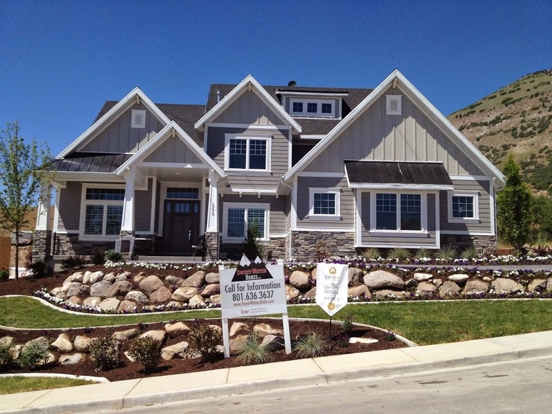 16 days of the utah valley parade of homes design for Craftsman homes with stone
