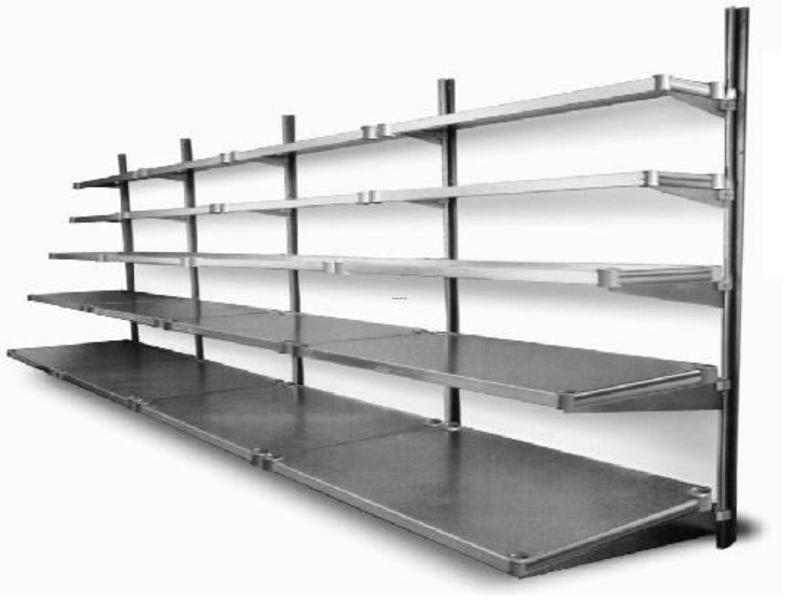 wall mount wire shelves to use in your garage design. Black Bedroom Furniture Sets. Home Design Ideas
