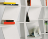 Open Sectional Modular Bookcase Zig Zag By B