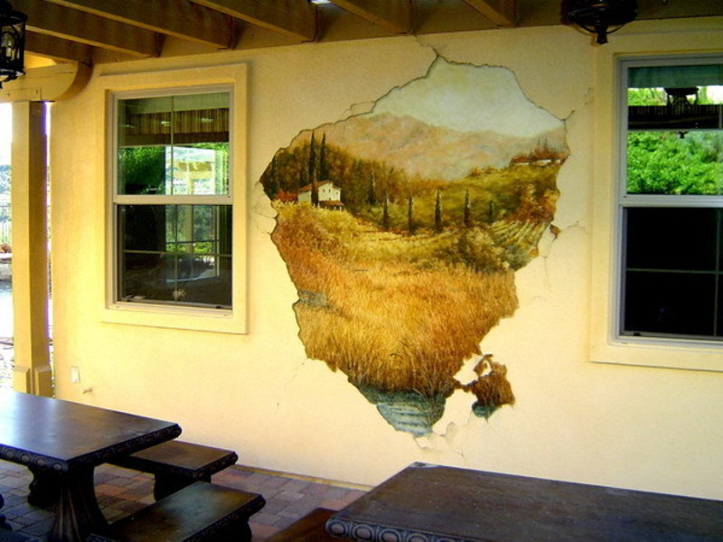 3 d painting wall murals for class room design ideas for 3d wall mural painting