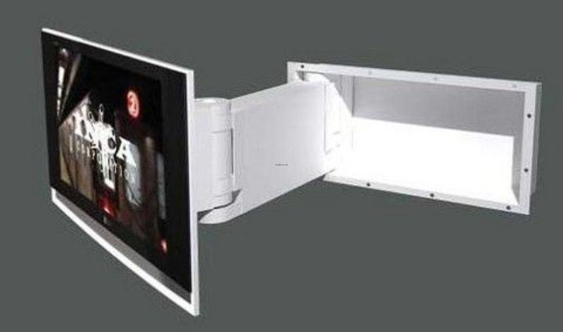 Wall Mounted Tv Cabinets For Flat Screens, How To Decorate Around Your Flat Screen Television