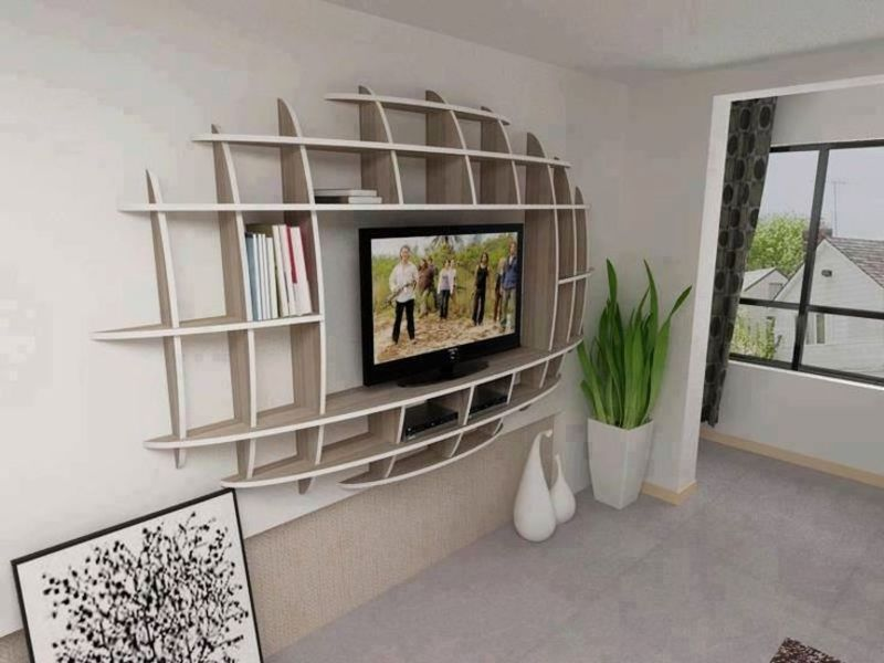 Wall Mount Flat Screen Tv Stand